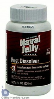Clean Rust Off Metal >> Naval Jelly Rust Dissolver - CAMEO